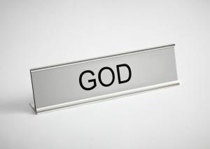Dorothy_0011b God-Satan Desk Signs