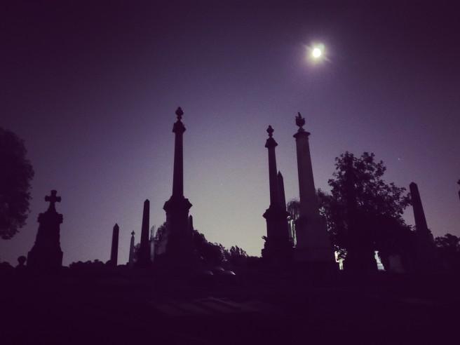 Haloween Cemetery